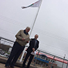 NSCC Cumberland hoists the flag on occupational safety