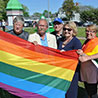Flag-raising ceremony recognizes gains on the road to equality