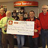 Proudfoots Home Hardware donates to Stellarton NSCC Student Aid Fund